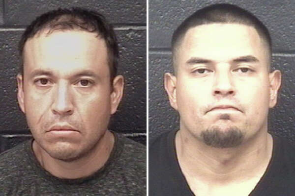 LPD said it believes Miguel Angel Mondragon, 36, and Julio Ernesto Rodriguez, 34, smashed display cases in the stores and stole 20 handguns.