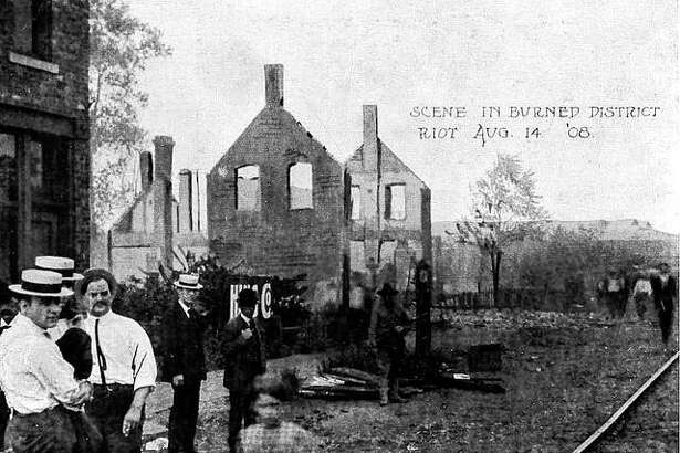The 1908 race riots in Springfield claimed the lives of six people.