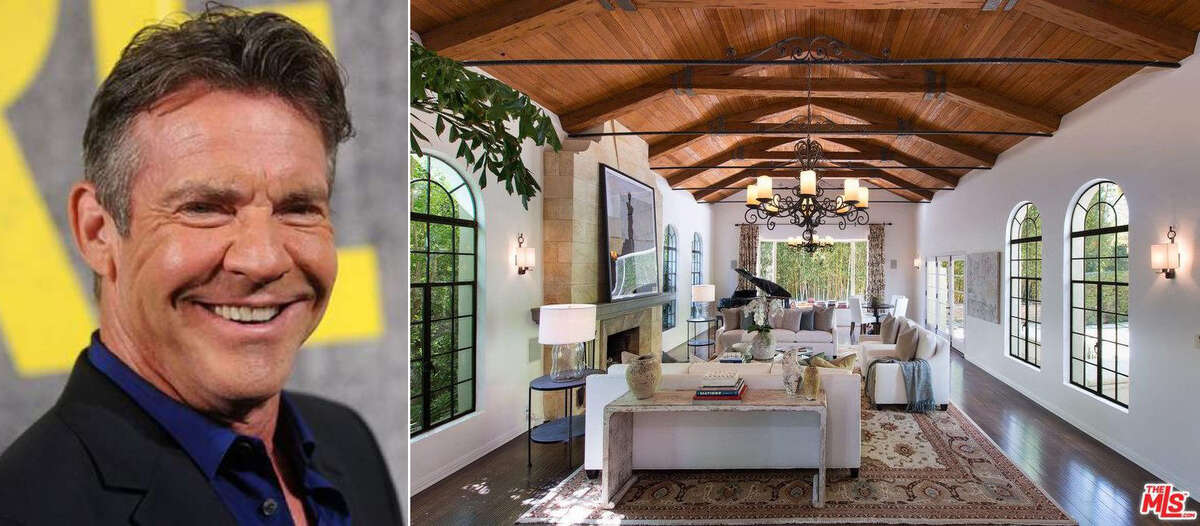 PHOTOS: See inside actor Dennis Quaid's $6.5 million home Actor Dennis Quaid is selling his Spanish-style home in Pacific Palisades, Calif., just months after finalizing his third divorce. Quaid, 64, picked up the six-bedroom, nine-bath home in July 2013 for $5.1 million. >>> Take a photo tour of Quaid's home, now for sale ..
