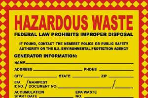 Town residents will be able to drop off hazardous waste from their homes at Veterans Park, 909 Reef Road in Fairfield, Conn., from 9 a.m. to 2 p.m. on Aug. 19, 2018.