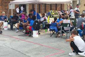 Scenes from Saturday's Gus Macker action in downtown Midland