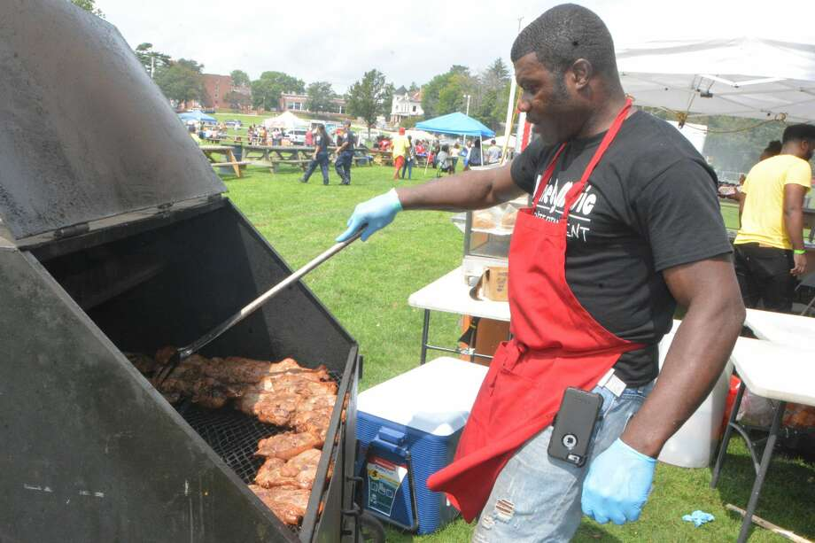 The 12th Annual Caribbean Jerk Fest was held at Seaside Park in Bridgeport on August 18, 2018. Festival goers enjoyed traditional Caribbean music, food and vendors. Were you SEEN? Photo: Vic Eng / Hearst Connecticut Media Group