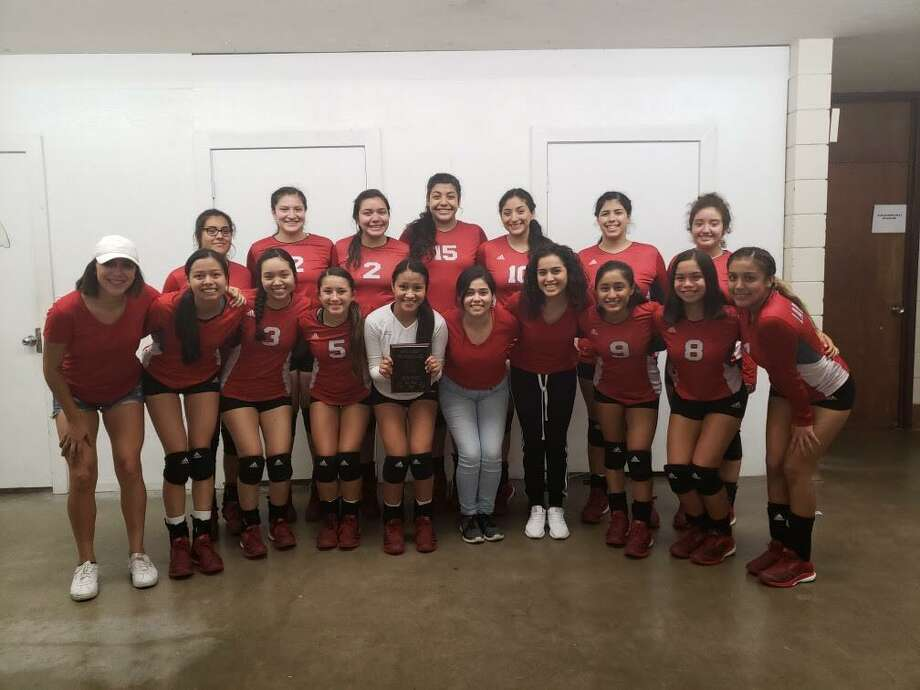 Martin earned the silver medal in the silver bracket Saturday at the Sinton Tournament falling 2-0 (25-17, 25-10) to Incarnate Word Academy in the championship game. Photo: Courtesy Photo
