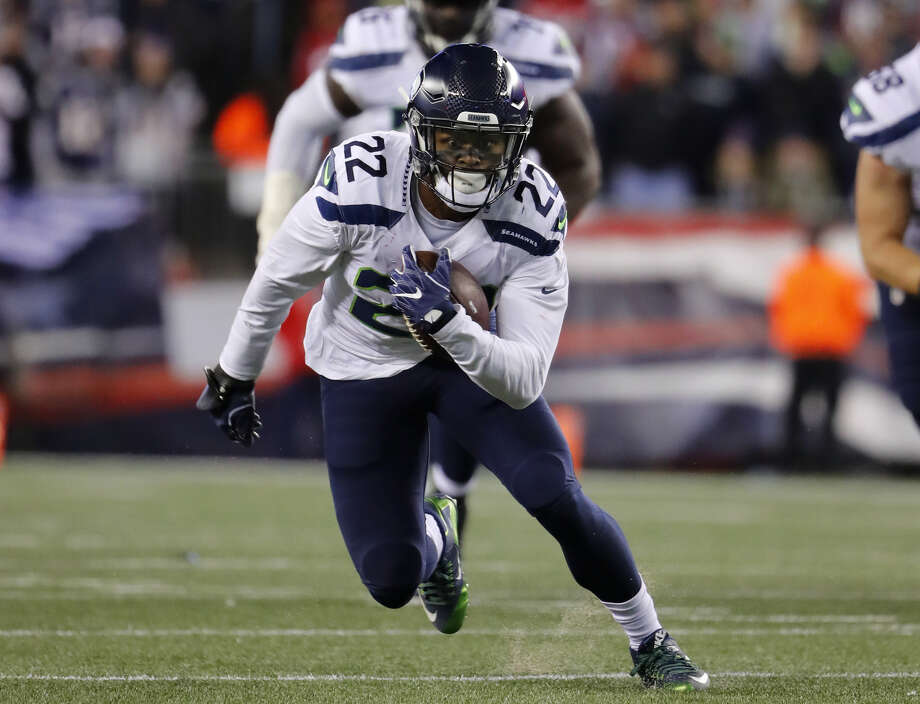 Seahawks running back C.J. Prosise (abdomen) has been ruled out for Sunday vs. the 49ers.  Photo: Winslow Townson/Associated Press