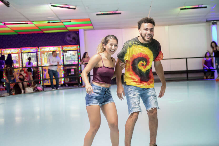 Families, kids and elite Jam Skaters showed off their skills to Hip Hop, R&B and Old School music at Skateland West. Photo: Joel Pena  / Joel Pena
