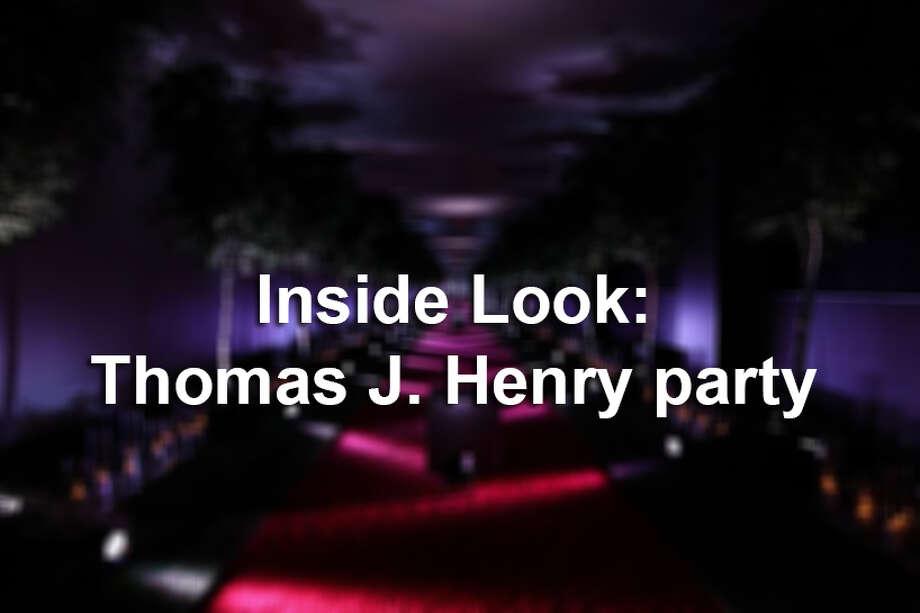 Inside Look: Thomas J. Henry party Photo: MySA