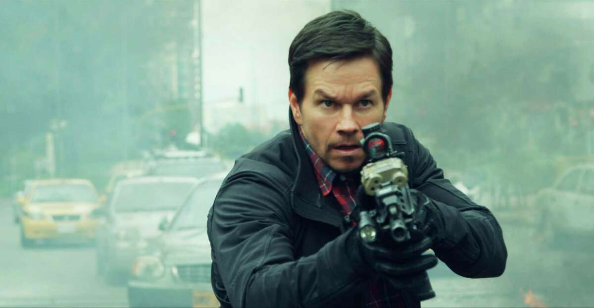 This cover image released by STXfilms shows Mark Wahlberg in a scene from