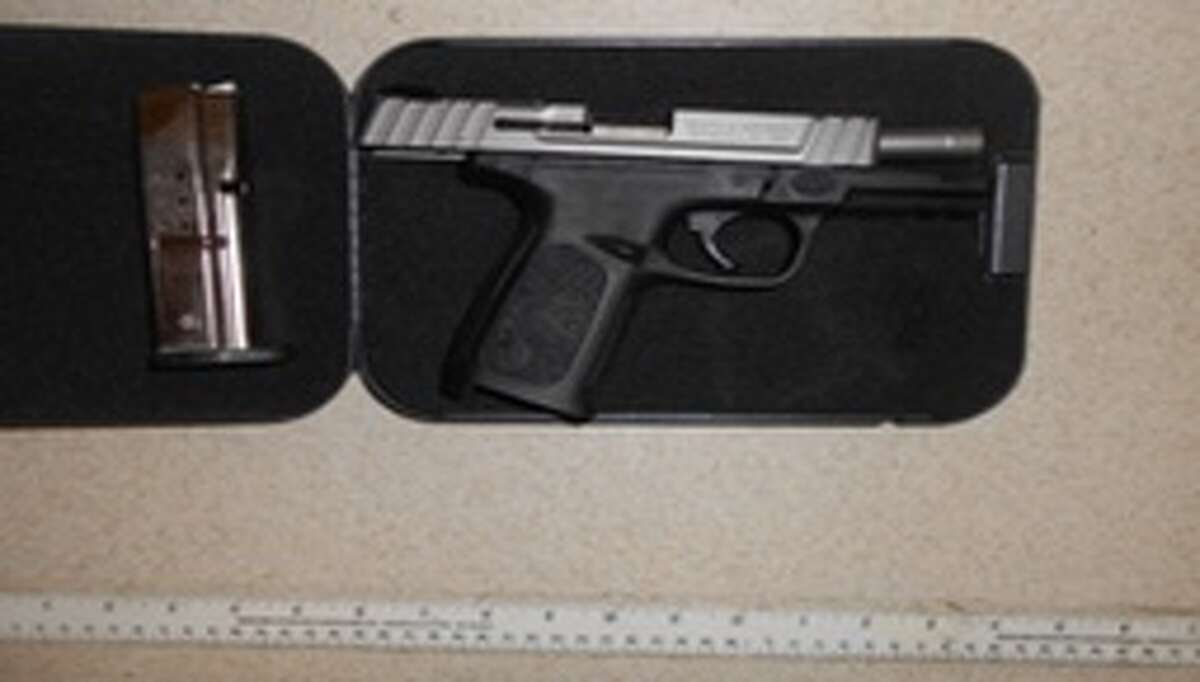 Albany County Sheriff's Office say Scott E. Garvey of Texas was in possession of a Smith & Wesson SD9 VE handgun at the Albany International Airport.