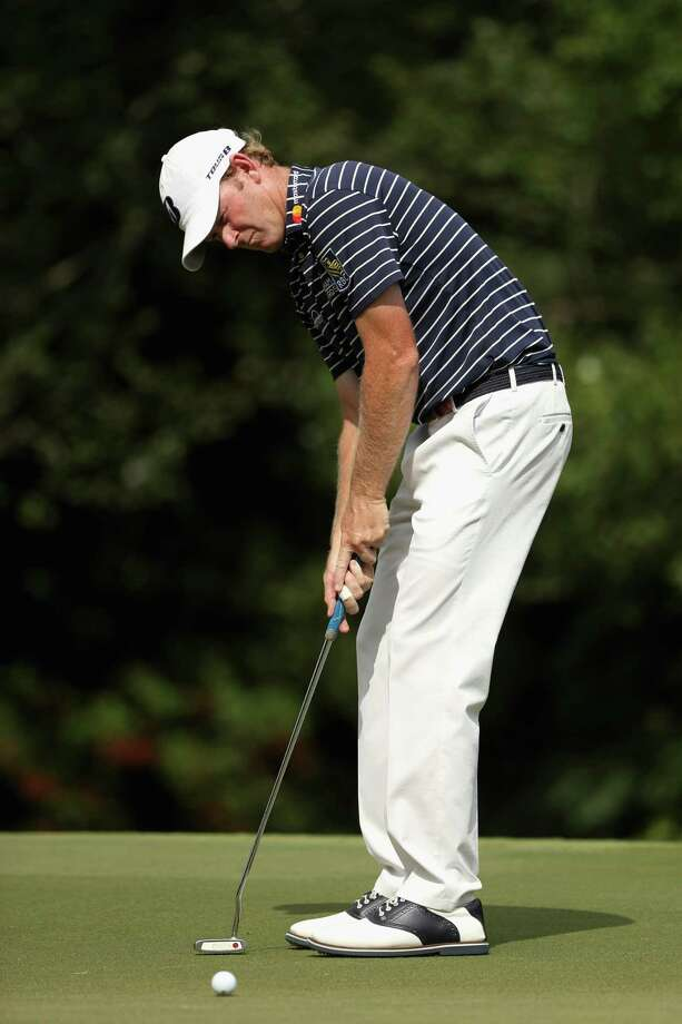 GREENSBORO, NC - AUGUST 19:  Brandt Snedeker attempts a putt on the 11th green during the final round of the Wyndham Championship at Sedgefield Country Club on August 19, 2018 in Greensboro, North Carolina.  (Photo by Streeter Lecka/Getty Images) Photo: Streeter Lecka / 2018 Getty Images
