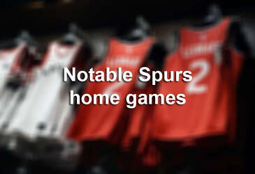 photo about Spurs Schedule Printable referred to as Spurs 2018-19 program: Some dates toward circle - San Antonio