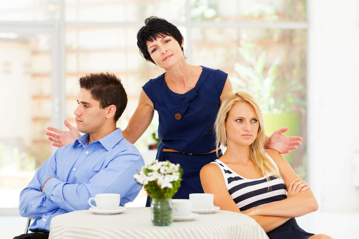 A man is worried about the influence of his disfunctional family on his future with his wife.