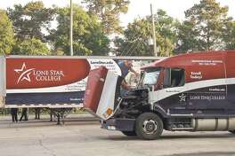 Lone Star College has seen seen veterans, retirees, single parents, part-time workers, and college and high school grads seeking a career in truck driving.
