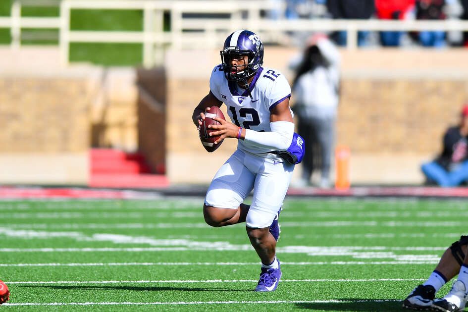Shawn Robinson, last season's backup quarterback, is expected to take the helm of TCU's offense this year.