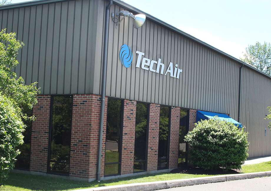 The entrance to the offices of specialty gas company Tech Air in Danbury, Conn., on Tuesday, June 20, 2017. Photo: Chris Bosak / Hearst Connecticut Media / The News-Times