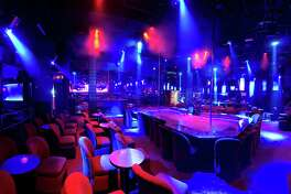 The interior of Scarlett's Cabaret in Miami, owned by Houston-based RCI Hospitality Holdings, Inc.