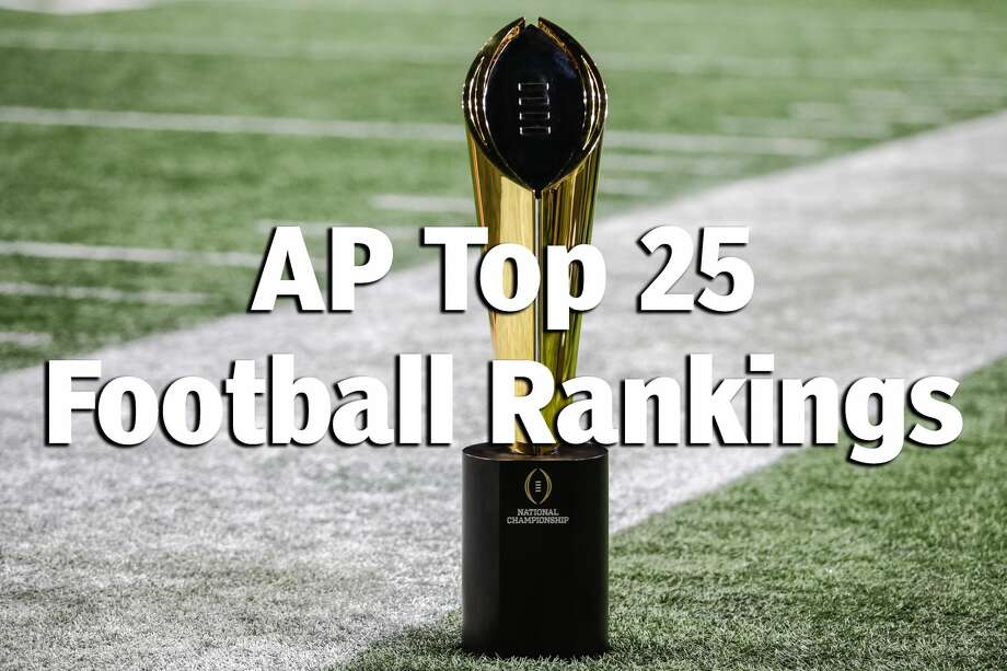 See which teams made the AP's Top 25 college football rankings this week ... Photo: Icon Sportswire/Icon Sportswire Via Getty Images