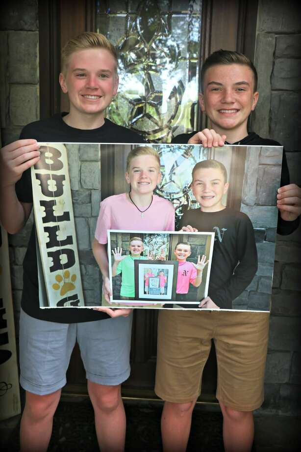 Jake and Luke Harrison - 9th and 8th grade, Nederland. Photo: Provided Photos