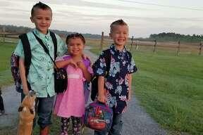 2nd grade, pre-k and kindergarten at West Hardin.