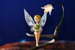 LONDON - NOVEMBER 10: A tiny waxwork model of the fairy Tinker Bell is unveiled at Madame Tussaudes on November 10, 2008 in London, England. The figure is the smallest ever created at the attraction, measuring only five and a half inches. (Photo by Dan Kitwood/Getty Images)