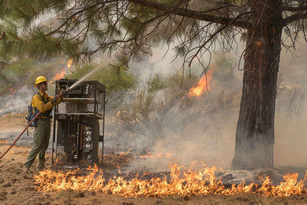 Drought is expected throughout much of Washington state in spring and summer 2019, which could make for volatile wildfire conditions. (File photo)