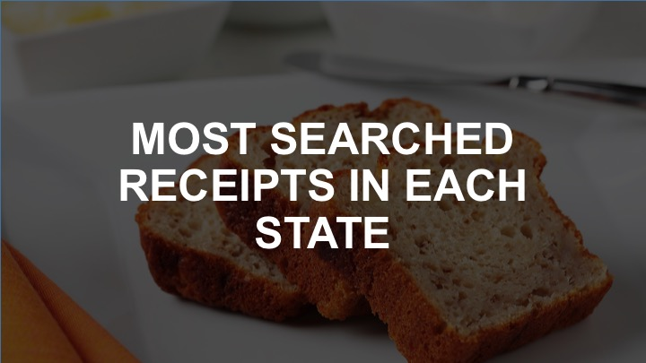 The most popular recipes in every state