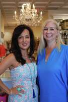 Pictured from left are Spring Branch Education Foundation Style Show and Luncheon co-chairs Michelle Majewski and Suzanne Stiles.