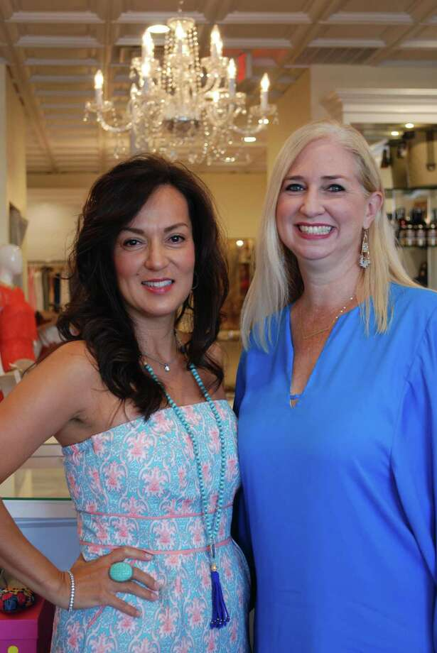 Pictured from left are Spring Branch Education Foundation Style Show and Luncheon co-chairs Michelle Majewski and Suzanne Stiles. Photo: Courtesy Photo