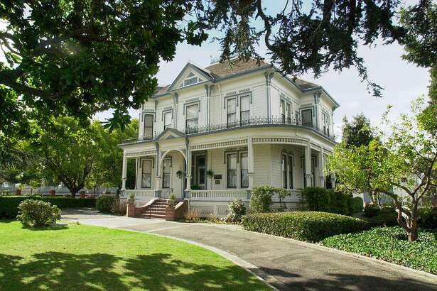 SANLORENZO5-C-13FEB01-RE-PC The McConaghy Estate is an historic 1886 home on Hesperian Blvd. where San Lorenzo meets Hayward. PHOTO BY PAUL CHINN Ran on: 06-18-2004 The McConaghy House, a furnished 12-room farmhouse in Hayward dating from 1886, is open for tours. Details, below. Ran on: 06-18-2004 Ron Campbell (left) and Andy Murray are in the cast of Shakespeares The Comedy of Errors at Bruns Memorial Amphitheater in Orinda. Details are at left.