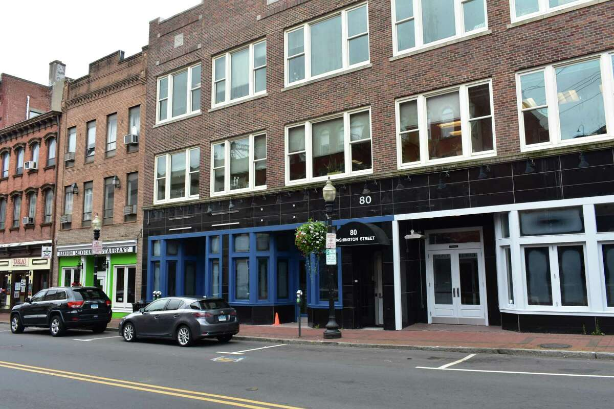 The former Johnny Utah's and Killer B Burger storefront at 80 Washington St. in Norwalk, Conn., on Aug. 20, 2018. A restaurant called Cantiki Taco Deck is taking over the space, with an opening date yet to be revealed.