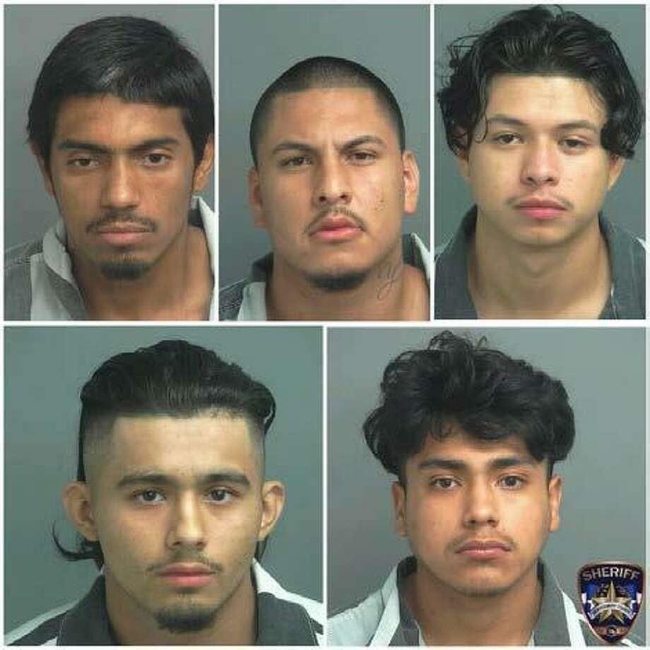 The Montgomery County Sheriff's Office arrested five males on a charge of theft from a construction site. Photo: MCSO