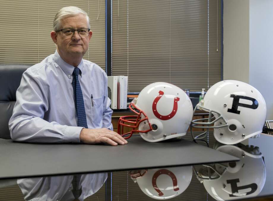 Bruce McCrary is the Executive Director of Athletics at ECISD. Photo: Jacy Lewis