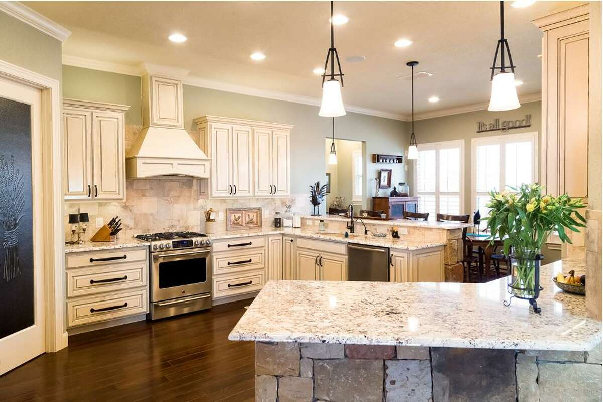 Natural stone such as granite is beautiful and durable, but, because it's porous, it must be resealed regularly or else it may absorb liquids such as wine or oils, resulting in a permanent stain. It may also be prone to cracking and chipping.