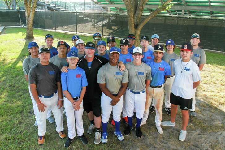 Coach Donnie-Ray Gregory and his Baytown Baseball Academy team cooked 2,500 meals for flood victims after Harvey. They also helped muck 100 flooded homes, pulling sheetrock and doing clean up. The team consists of boys, ages 14-18, who worked tirelessly in the Whispering Pines subdivision in Baytown.