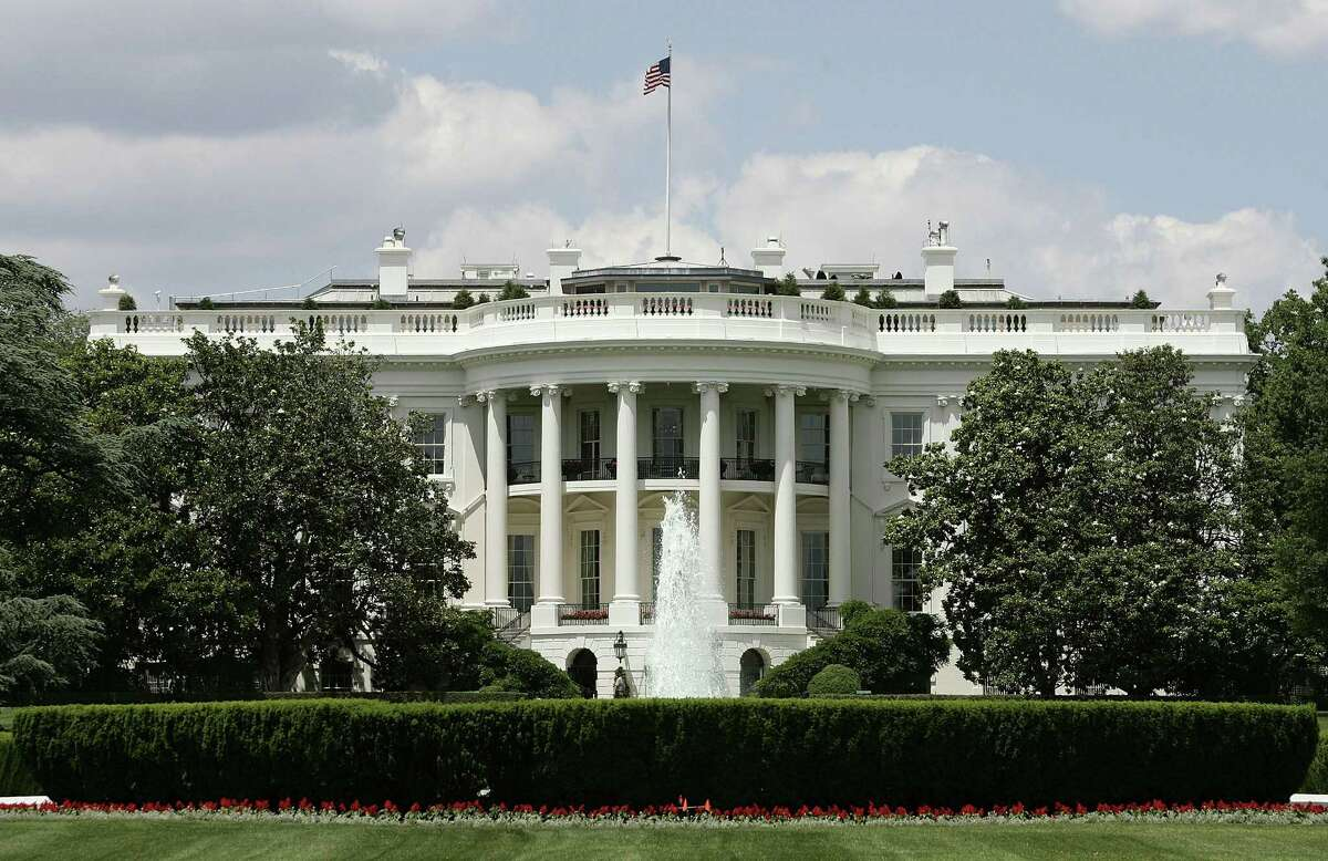 The exterior view of the south side of the White House is seen May 31, 2005 in Washington, D.C.