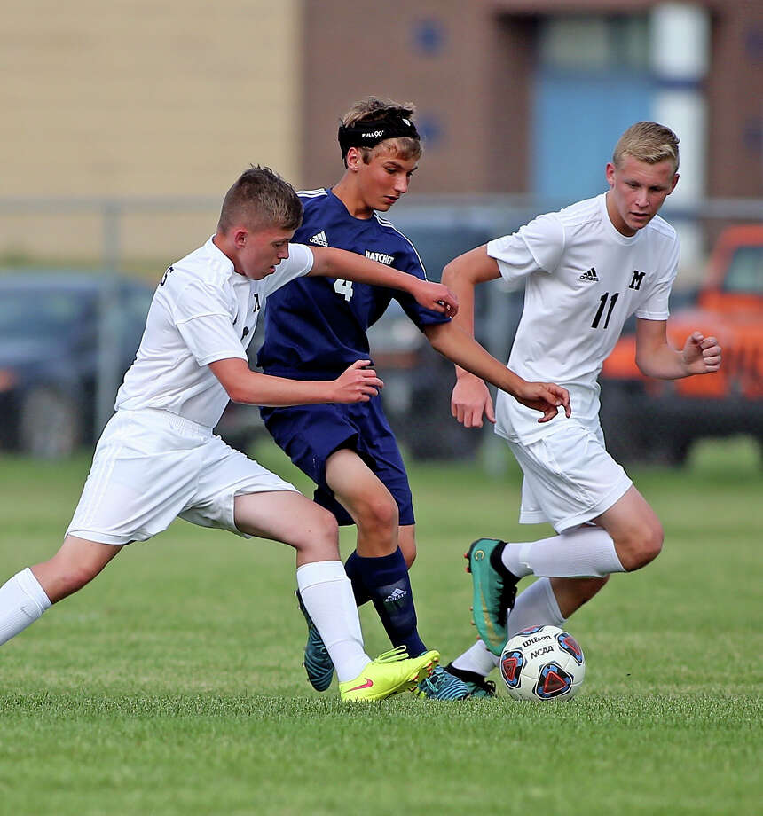 Memphis at Bad Axe — Soccer Photo: Paul P. Adams/Huron Daily Tribune
