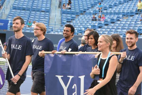 The CT Open was held at the Connecticut Tennis Center at Yale in New Haven August 17-25, 2018. TheOpening Night Ceremony was held on August 20. Were you SEEN?