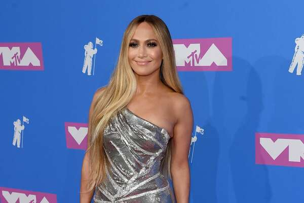 Jennifer Lopez's metallic gown was timeless on the singer.