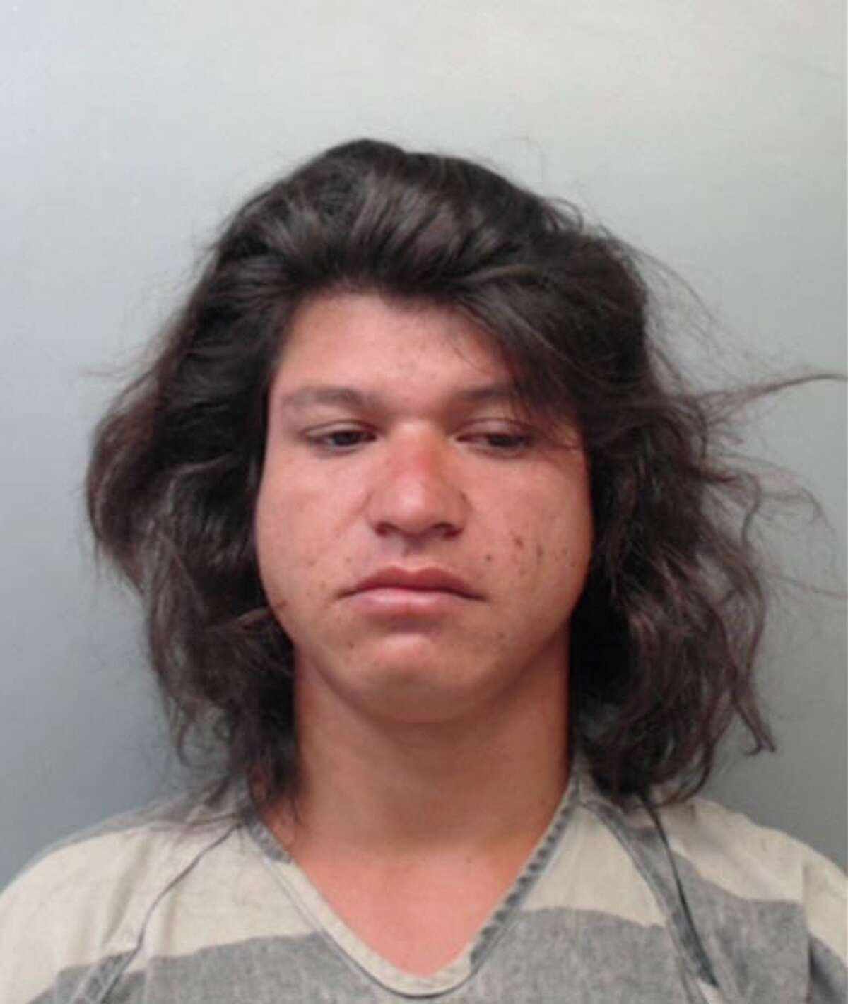 Jose Flores Renteria, 27, was charged with public lewdness.