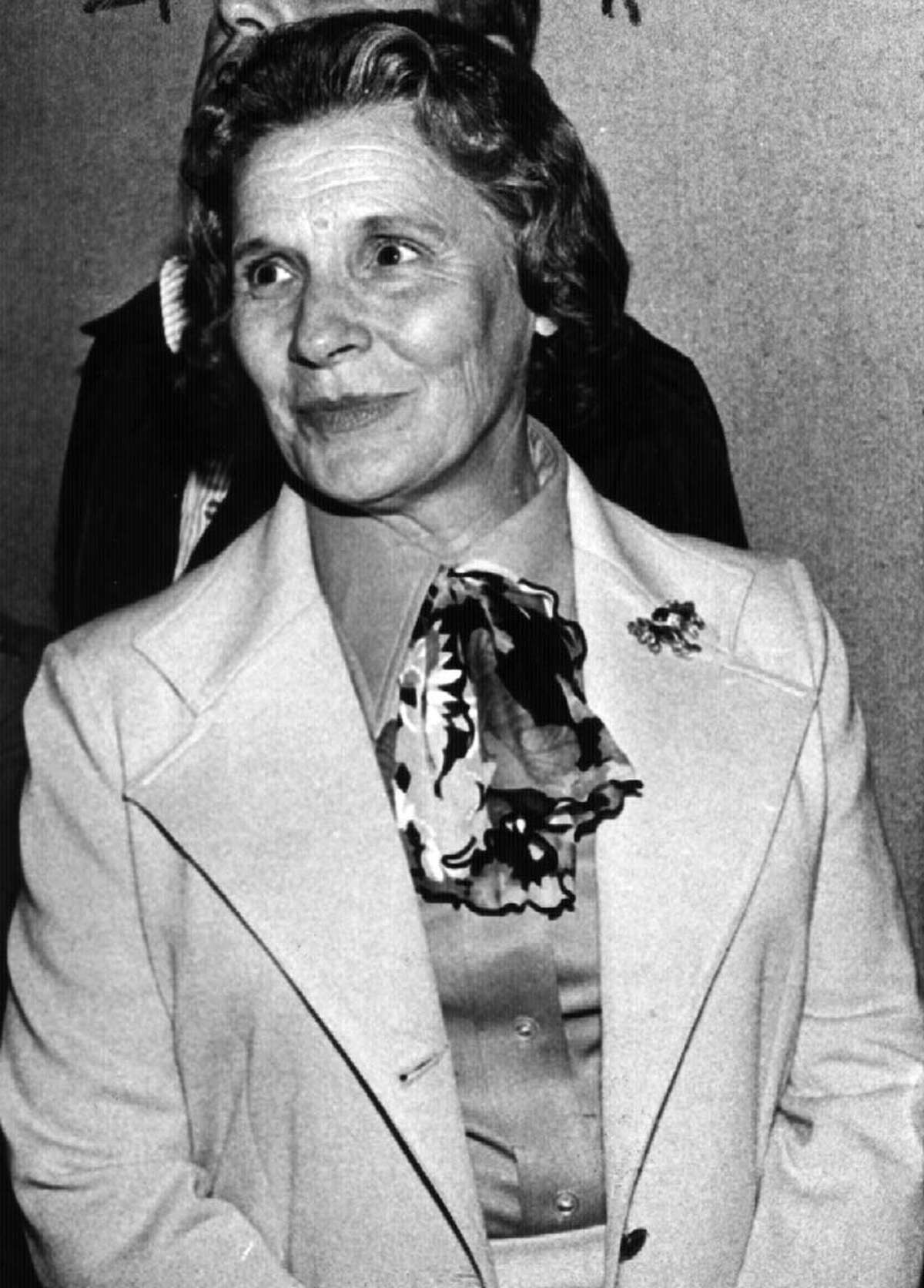 POLLY NOONAN, longtime Albany County Democrat insider. 1978. (Times Union archive)