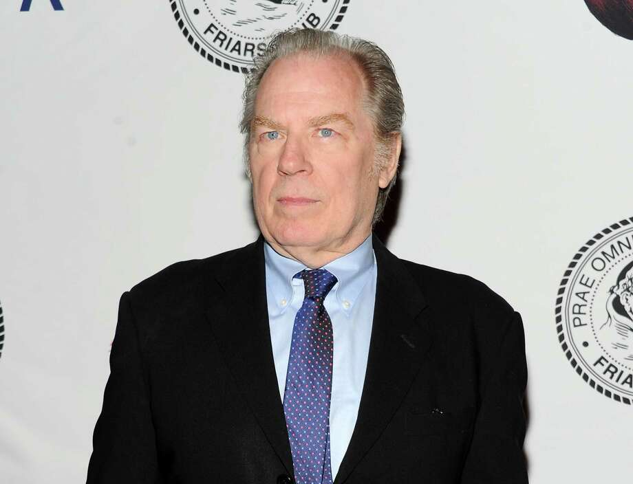 """FILE - This April 5, 2013 file photo shows actor Michael McKean at the Friars Club Roast of Jack Black at the New York Hilton  in New York. Producers of """"All the Way,"""" a play about President Lyndon B. Johnson, said Tuesday, Nov. 26, that McKean will play former FBI director J. Edgar Hoover and Brandon J. Dirden will portray the civil rights icon Martin Luther King Jr. when Robert Schenkkan's play makes it to the Neil Simon Theatre  early next year. (Photo by Evan Agostini/Invision/AP, File) ORG XMIT: NYET222 Photo: Evan Agostini / Invision"""