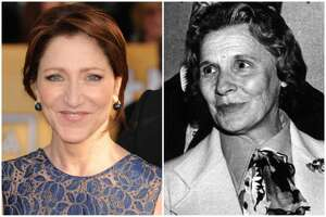 Edie Falco and Polly Noonan