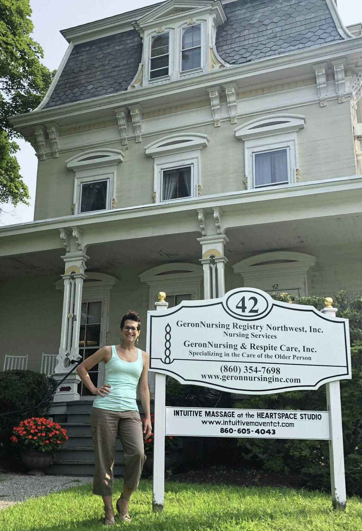 The HeartSpace Studio for the Healing Arts, owned by Lisa Lent, a licensed massage therapist, is housed at 42 Main St. in New Milford.