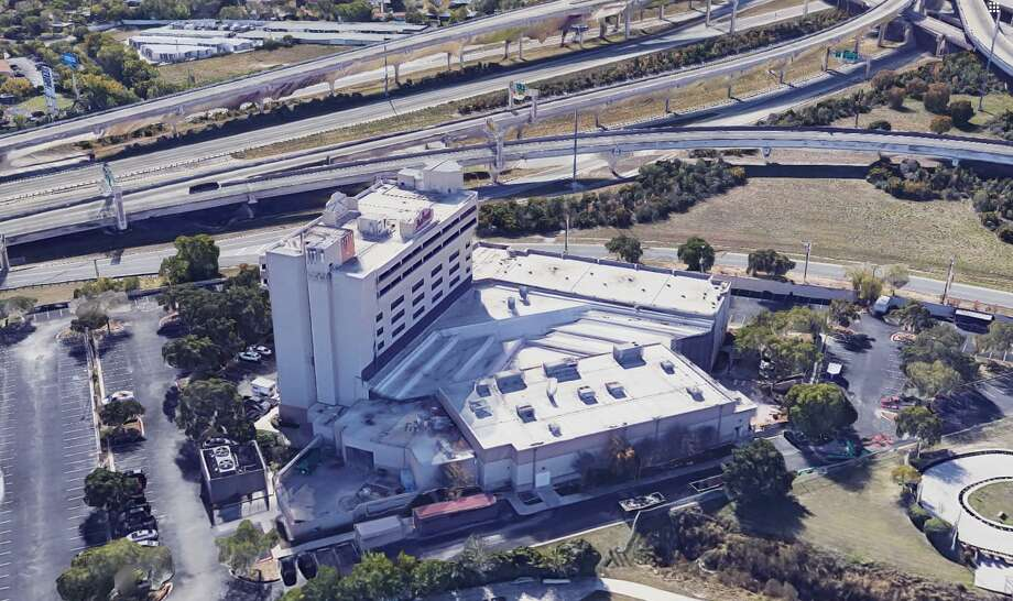The San Antonio Marriott Northwest hotel that overlooks the intersection of Interstate 10 and Loop 410 is in foreclosure after its owner, Los Angeles investment firm Laurus Corp., defaulted on a $21.3 million loan. Photo: Google Maps