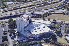 The San Antonio Marriott Northwest hotel that overlooks the intersection of Interstate 10 and Loop 410 is in foreclosure after its owner, Los Angeles investment firm Laurus Corp., defaulted on a $21.3 million loan.