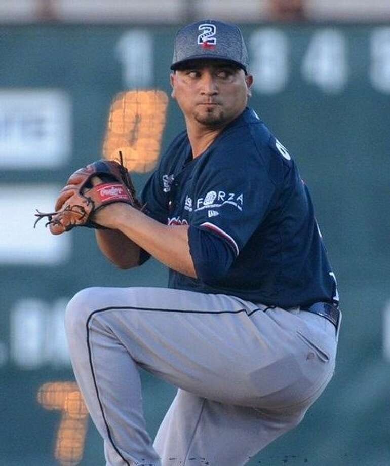 Jose Oyervides became the second consecutive player from the Tecolotes Dos Laredos to win the LMB's Pitcher of the Week award. Oyervides threw 12 scoreless innings in two games this week. Photo: Courtesy Of The LMB, File