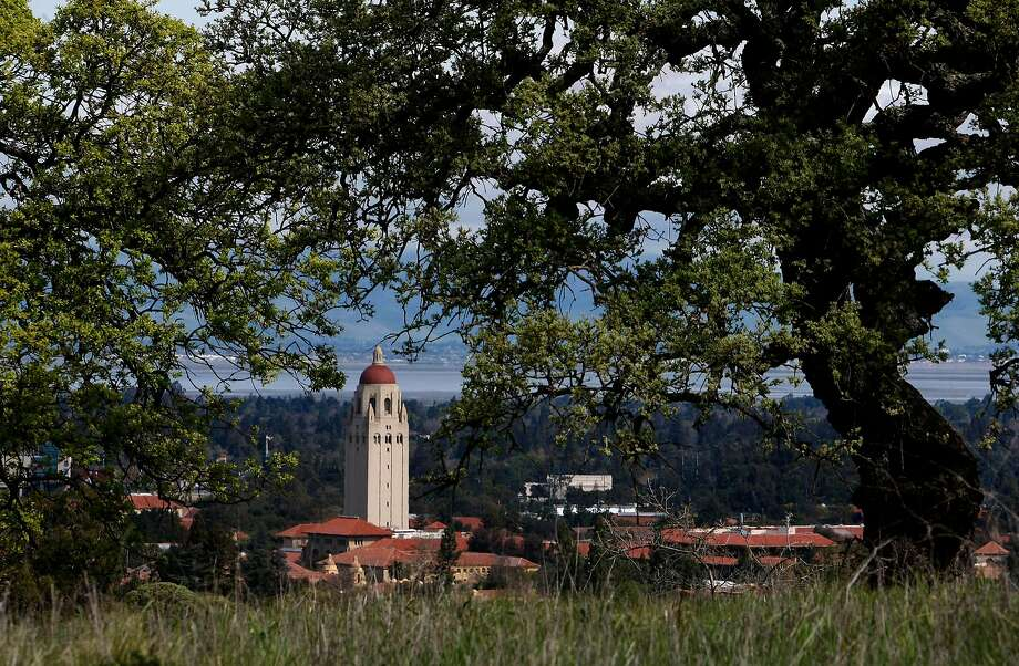 """Some of the sights along the trail, views of the University and the Stanford Tower, along the """"Dish"""" trail on the Stanford University campus in, Palo Alto, Calif., on Mar. 13, 2008,   Photo by  Michael Macor/ San Francisco Chronicle Photo: Michael Macor / The Chronicle"""