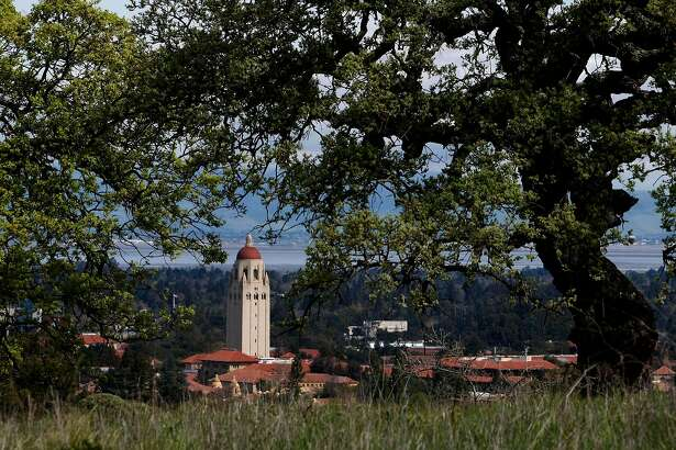 "Some of the sights along the trail, views of the University and the Stanford Tower, along the ""Dish"" trail on the Stanford University campus in, Palo Alto, Calif., on Mar. 13, 2008, Photo by Michael Macor/ San Francisco Chronicle"