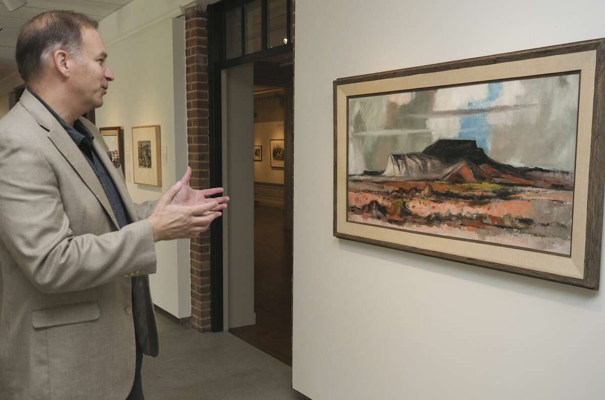 Daniel Eck, new executive director for the Museum of the Southwest, speaks 08/21/18 about his vision for the museum. Tim Fischer/Reporter-Telegram