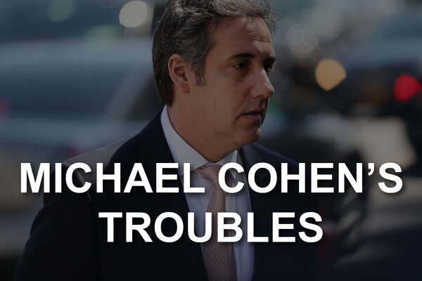 Michael Cohen's troubles