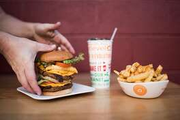 Next Level Burger, a plant-based burger chain originally from Bend, Ore., will open its first San Francisco location on Friday, August 24, 2018, in the Potrero Hill Whole Foods.